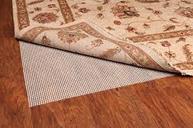 amazon grip it ultra stop non slip rug pad for rugs on hard surface floors 8 by 10 feet kitchen dining