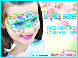 for the month of march we invited you to paint your competition entry with the theme of spring easter your design could have been inspired by any aspect
