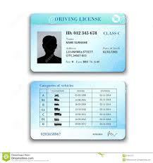 Vector - Background Stock Of Driver License Illustration Address 51912171