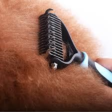 <b>Hair Removal Comb</b> for <b>Dogs</b> Cat Detangler Fur Trimming ...