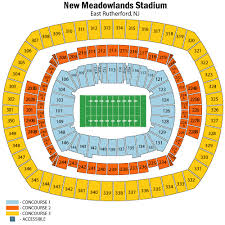 New York Jets Seating Chart New York Jets Pregame Hospitality East Rutherford Tickets