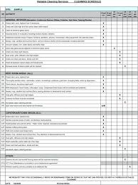 Template Warehouse Housekeeping Checklist Template Free Cleaning