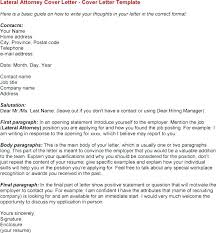 Law Firm Cover Letters Letter Samples Lawyer Sample Legal Office