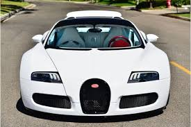 An uncompromising experiment, a thoroughbred, a pur sang that, in its brute exclusivity, impresses above all with high performance, low weight and a driving experience. Matte Pearl White Bugatti Veyron Grand Sport For Sale