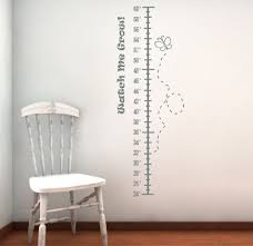 Watch Me Grow Height Chart Wall Decals Bulletin Boards