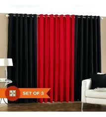Black living room curtains Grey Black Living Room Curtains Stylish Decoration Black And Red Curtains For Living Room Red And Black Bigskysearchinfo Black Living Room Curtains Bigskysearchinfo