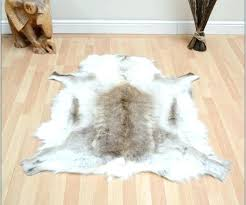faux skin rug medium size of garage animal rugs fur bear with head fake cow sk