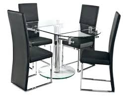expandable glass dining table creative of extendable set round extending top singapore