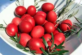 Αποτέλεσμα εικόνας για Το Θαύμα των κόκκινων αυγών της Αγίας Μαρίας της Μαγδαληνής...