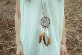 Small Dream Catcher Necklace Fascinating Handmade Dream Catcher Necklace On Storenvy