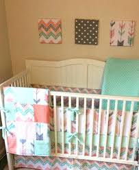 mini crib bedding sets mini crib bedding for girl baby girl mini crib bedding best chevron