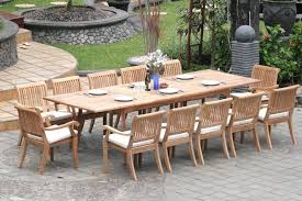 extending teak patio table vs fixed length dining table pros and