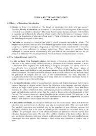 foundation of education topic 6 history of education
