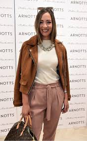 naomi clarke pictured as millie mackintosh launched her new collection at arnotts style sessions photos