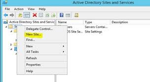 Step By Step Setting Up Active Directory Sites Subnets Site
