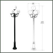 modern outdoor lamp post lights contemporary outdoor lighting