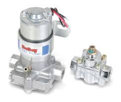 marine fuel pumps holley performance products 110 gph blue® electric fuel pump regulator