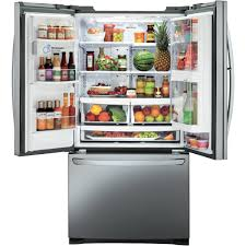 LG GF-D613PL 613L French Door Refrigerator at The Good Guys
