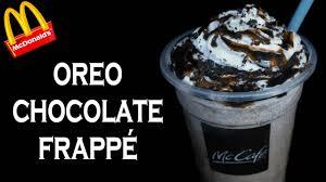 make oreo chocolate frappé like mcdonald s mccafe mcdonald s frappe recipe yummylicious