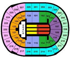 Hand Picked Hp Pavillion San Jose Concert Seating Chart San