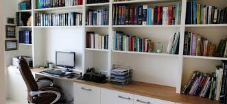 Home offices fitted furniture Contemporary White Bespoke Fitted Home Office Holmfields Modern Home Office Archives Bespoke Furniture Fitted Wardrobes