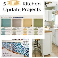 Diy kitchen projects Kitchen Island Sundaes Flip Flops You Can Update Your Kitchen With These Diy Projects