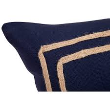 cafe lighting and living. cafe lighting and living kennedy rectangle cushion navy
