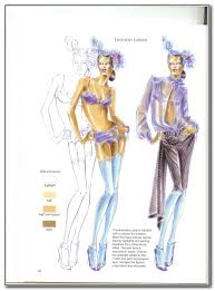 how to draw fashion sketches for beginners step by step pdf