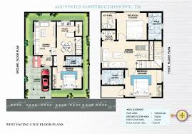 30x40 north facing house plan with car parking fresh 30 40 north facing house plans