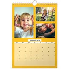 Phot Calendar Personalised Calendar Photo Calendar Asda Photo