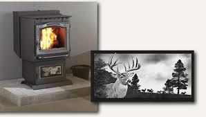 granite pellet stove inserts