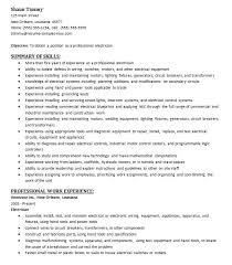 Electrician Apprentice Resume Samples Electrical Engineer Apprentice Resume Samples