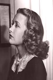 Priscilla Lane in Dust Be My Destiny (1939)/ 1930s Hairstyle Inspiration /  1930s Fashion/ Vintage H