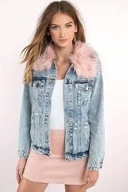 faux pink fur coat fur jackets light wash honey punch clueless denim jacket pink faux fur jacket with hood pink faux fur jacket zara