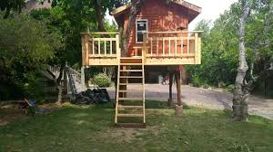 Quick Simple Tree House Plans Shining Designs Kids Treehouse And