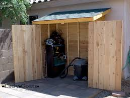 Small Picture Ana White Small Cedar Fence Picket Storage Shed DIY Projects