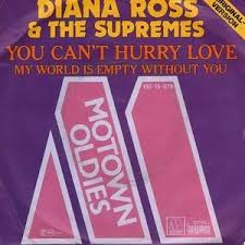 I can't hear you no. You Can T Hurry Love My World Is Empty Without You By The Supremes Single Motown 100 15 079 Reviews Ratings Credits Song List Rate Your Music