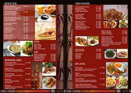 Restaurant Menu Design Templates Oriental Restaurant Menu Design Ideas Restaurant Menu Design That