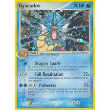 It was printed in the jungle set and is easily the most expensive card in the set. Gyarados 8 107 Ex Deoxys Holo Rare Pokemon Card Near Mint Tcg