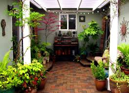 Small Picture Furniture Tasty Small Courtyard Garden Design Ideas Designs