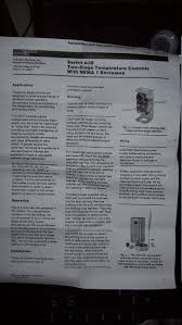 johnson controls a28aa 36 two stage thermostat wiring home brew manual page 1