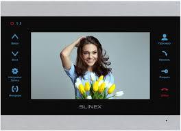 Монитор <b>видеодомофона Slinex SL-07M</b>, Silver Black — купить в ...