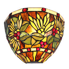 wl120012 stained glass wall sconce art deco s tiffany table lamp pendant lamp ceiling lamp floor lamp candle holder window panel wall