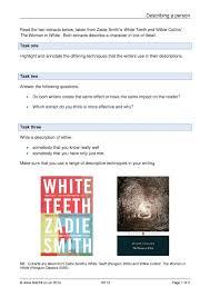 describing a person creative writing ks descriptive writing  describing a person creative writing ks4 descriptive writing home