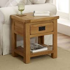 rustic oak lamp table the furniture