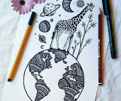 Hipster Drawings