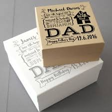 personalised gift bo uk beautiful father s day keepsake t box by letterfest