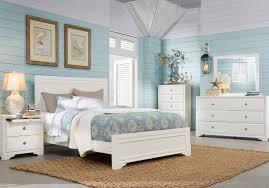 Shop Now Belcourt White 5 Pc Queen Panel Bedroom 5-Pc. Set ...