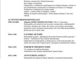 Review Your French Resume Cv By Flagnico Extraordinary Resume In French