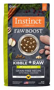 Instinct Raw Boost Grain Free Recipe With Real Chicken For